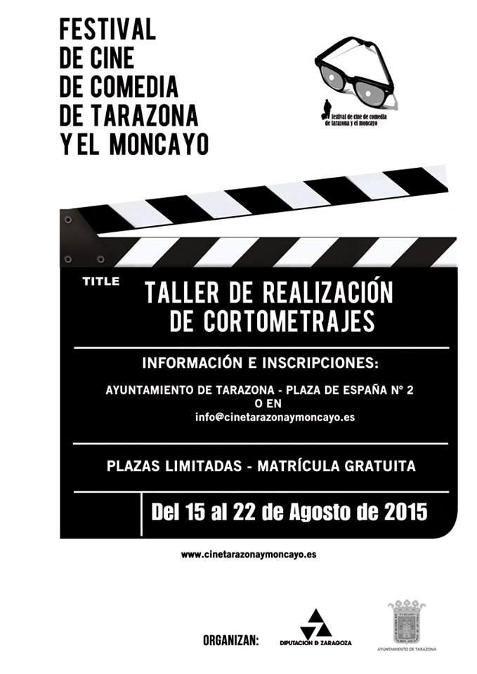Cartel taller cortos 2015