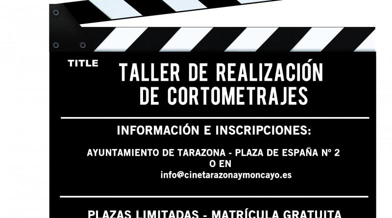 cartel taller cortos Tarazona 2016