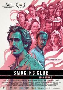 14 SMOKING CLUB cartel